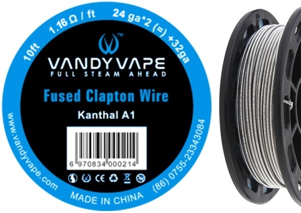 Vandy vape Kanthal A1 Fused Clapton Wire 3m