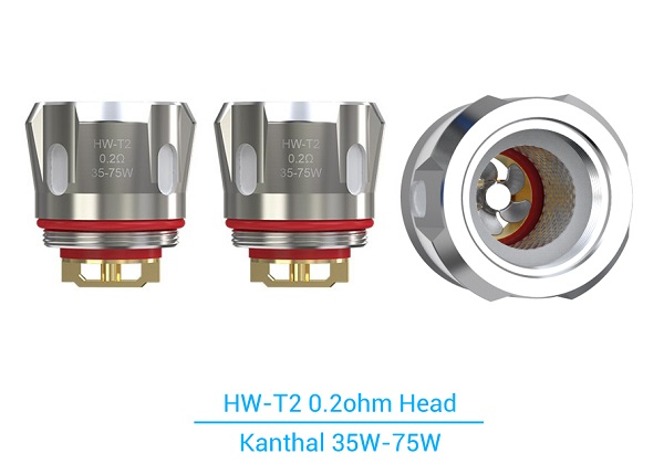 HW-T2 Atomizer Heads x 2